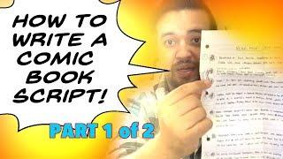 How To Write a Comic Book Script (Part 1)