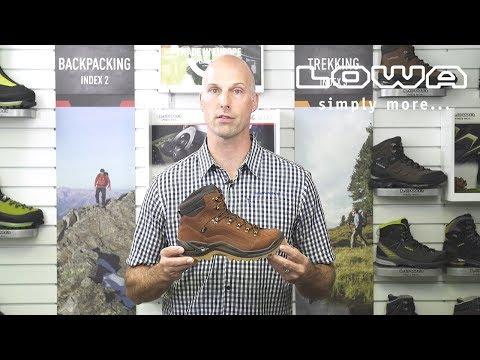 Introduction de la botte LOWA Renegade GTX MID