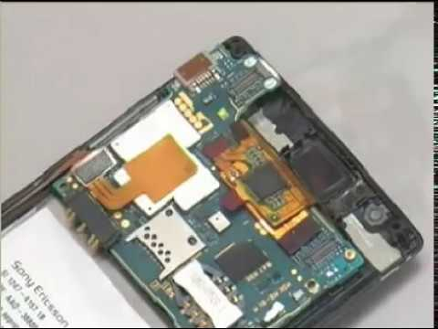 Sony Ericsson Xperia Arc Anzu -Xperia Arc S  Disassembly