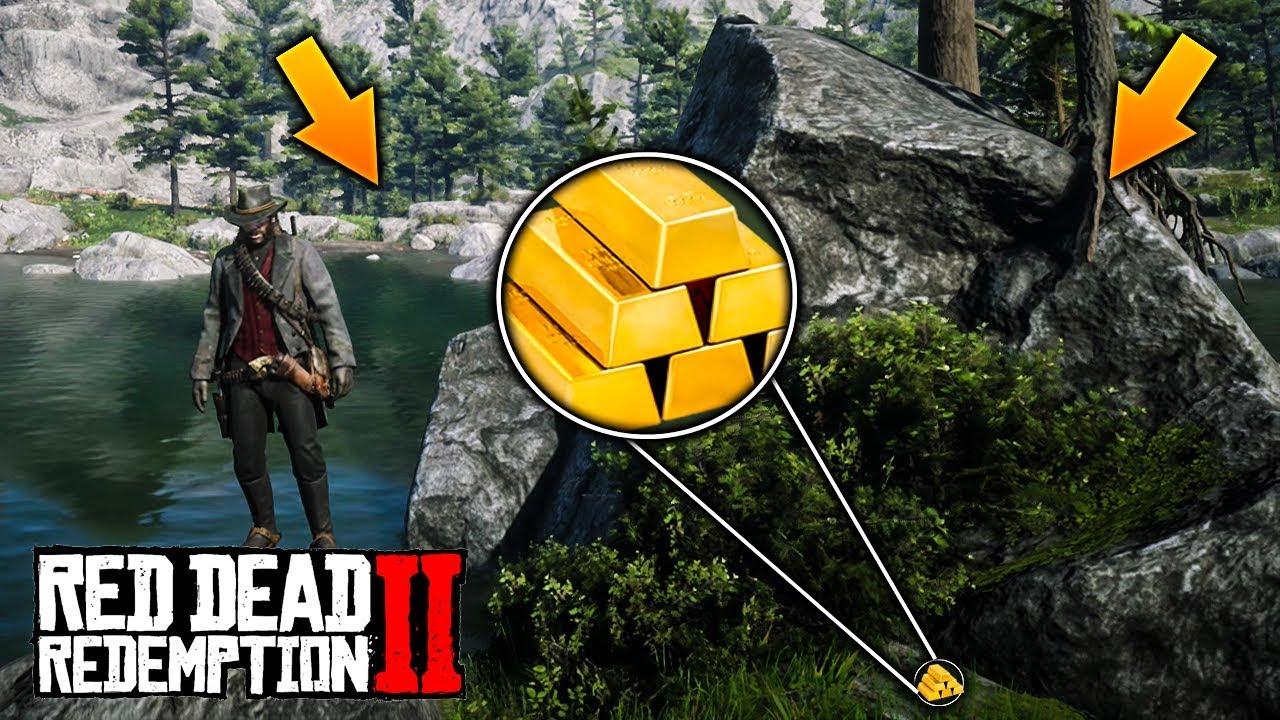En Esta Isla Hay Lingotes De Oro Ocultos Dinero Fácil Y Rapido En Red Dead Redemption 2 Jack Hall Youtube