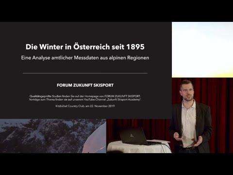 Gastbeitrag #006 - KLIMAWANDEL IN ÖSTERREICH: Die Winter seit 1895 – Messdaten aus alpinen Regionen