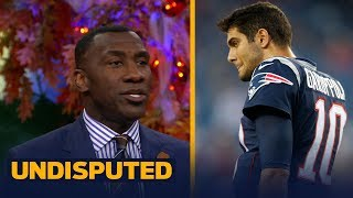 The Patriots traded Jimmy Garoppolo and are a hit away from being the Packers | UNDISPUTED