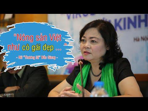 """Nữ doanh nhân Bắc Giang: """"Nông sản Việt như cô gái đẹp chỉ ngồi nhà chờ người khác hỏi mua"""""""