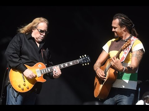 Michael Franti & Spearhead (ft. Warren Haynes) - Crazy With You - Mountain Jam 2015