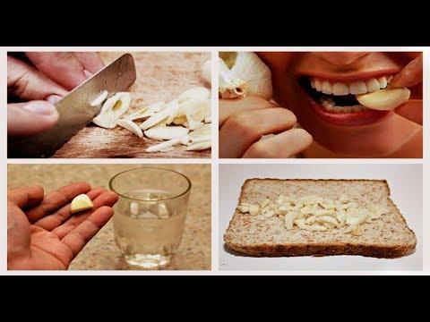 Почему после чеснока болит желудок почему