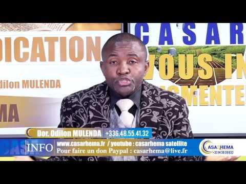 DIEU A CREE PENDANT 3 JOURS Partie1 / Dr ODILON MULENDA