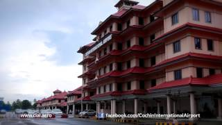 Welcome to Cochin International Airport; the 4th largest airport in India