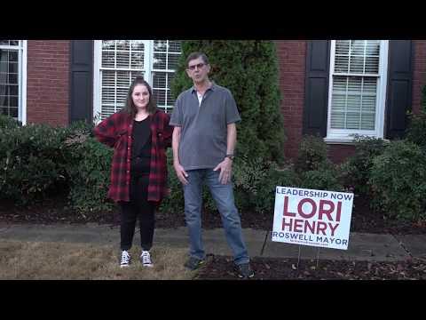 Vote Lori Henry for Mayor Nov 7th - Roswell Neighbors Speak Up