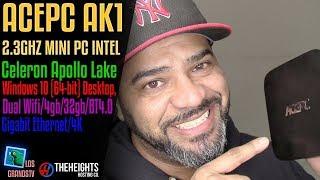 ACEPC AK1 4K MiniPC Intel 4GB 32GB EMMC, WIN 10 💻 : LGTV Review