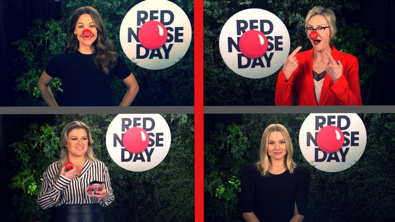 Red Nose Day 2019 (NBC) Kelly Clarkson, Kristen Bell, Jennifer Garner & Jane Lynch [HD]