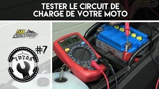 TUTO #7 - HOW TO TEST A MOTORCYCLE CHARGING CIRCUIT ( VOLTAGE REGULATOR,  FLASHER RELAY ASSY)