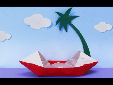 Fun Crafts For Kids How To Make A Paper Boat