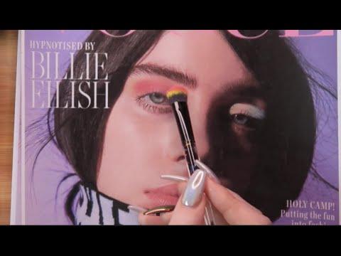 ASMR Putting Makeup On Billie Eilish & Fiona Apple!