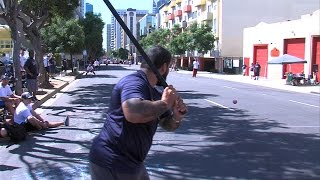 Stickball Tournament in Little Italy