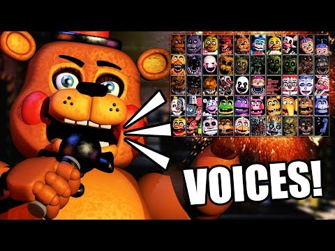 "ALL CHARACTERS ARE GETTING VOICES?! || ""ULTIMATE"" CUSTOM NIGHT FOR FNAF 6 NEW INFO"