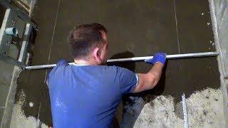 як зробити стяжку під кахель