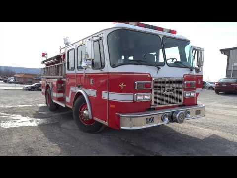 1996 E-One Sentry 1250/500