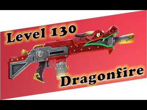 Fortnite - Level 130 Dragon Fire!