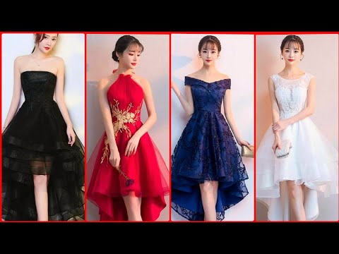 top-stylish-high-low-prom-dresses- -tulle-homecoming-short-prom-dresses