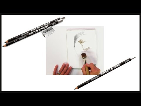 Cheap Joe's 2 Minute Art Tips - General's Sketch & Wash Pencils