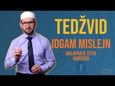 TEDŽVID: IDGAM MISLEJN - UKLAPANJE ISTIH HARFOVA
