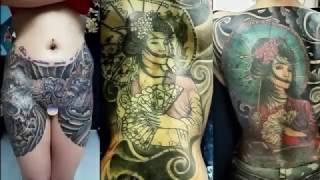 orang orang ini rela di tato seluruh tubuhnya