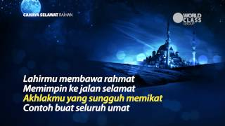 Cahaya Selawat with Lyrics