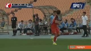 2016 K리그 챌린지 11R 강원FC vs 대구FC 하이라이트