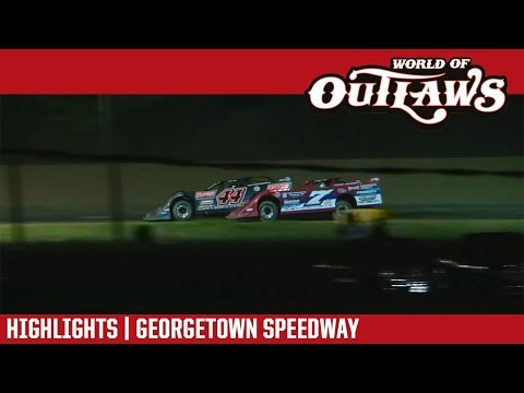 World of Outlaws Craftsman Late Models Georgetown Speedway August 16, 2018 | HIGHLIGHTS