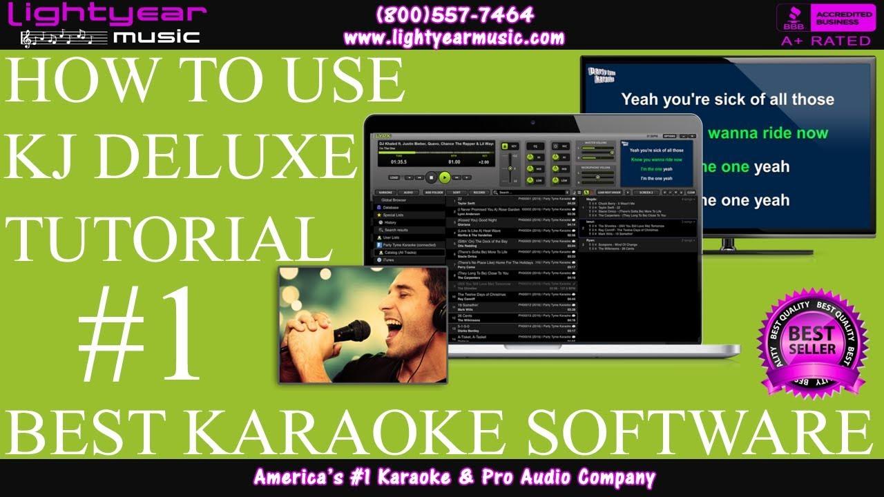 Karaoke & DJ Software | Karaoke Player for Mac and Windows | KJ DELUXE