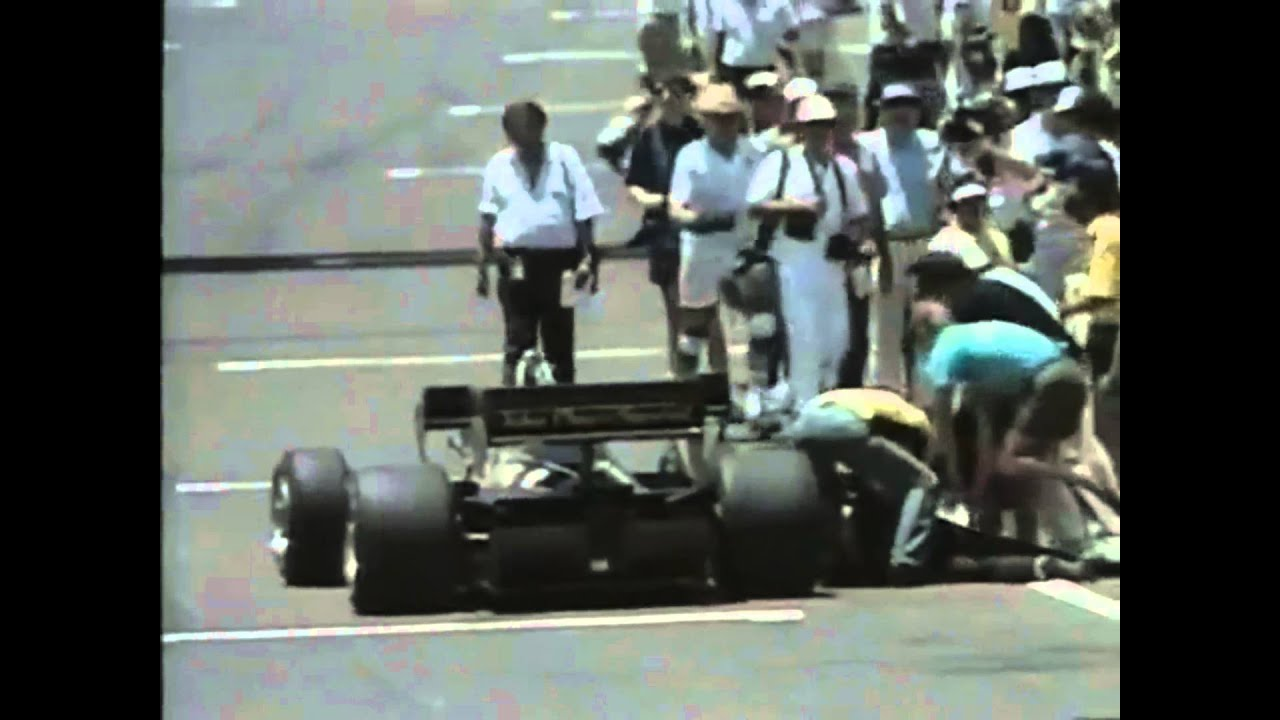 Now Tv F1 Pass Formula 1 1984 Nigel Mansell Faints While Pushing His