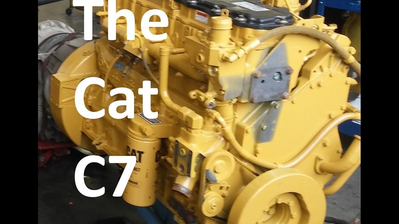 The Cat C7 Engine Facts, Walk Around, Sensor Locations