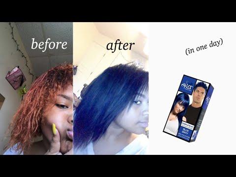 BLEACHING MY HAIR FAIL & DYING IT BLUE | Splat Blue Envy Hair Dye💙