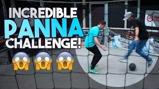 Incredible Panna Challenge!   Sean Garnier v Smithy