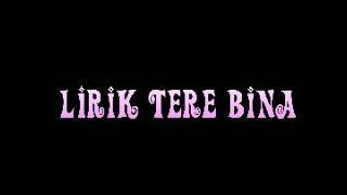 HOT BOLLYWOOD Song Lirik Lagu Tere Bina