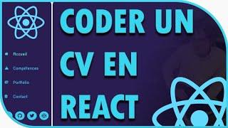 Miniature catégorie - [Projet React] Coder son CV avec la bibliothèque React (débutant)