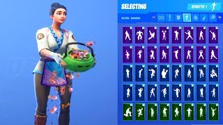 MAKI MASTER EXPERT SKIN SHOWCASE WITH ALL FORTNITE DANCES & EMOTES
