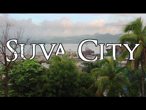 SUVA CITY - FIJI'S CAPITAL - A PLANE AND TAXI TOUR