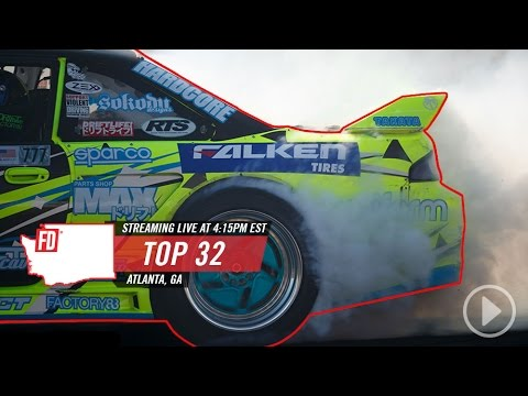 LIVE on Network A: Formula Drift Atlanta - Main Event