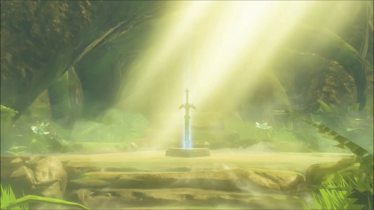 Zelda BotW - Master Sword Live Wallpaper