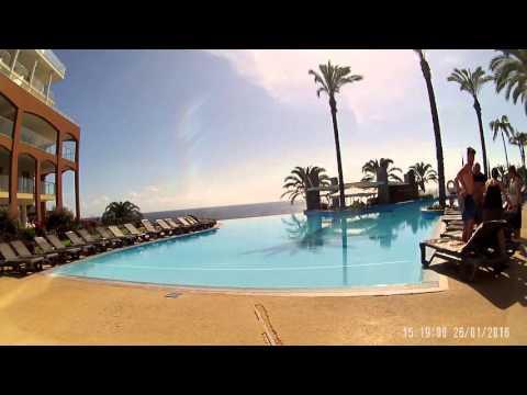 Pestana Pool area...Promenade Ocean Resort Hotel, Funchal, Madeira
