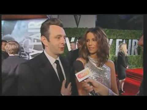 Martin Sheen and Kate Beckinsale at the Oscars - GMTV - 8th March 2010