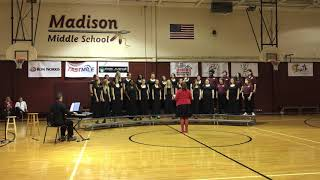 Madison Middle School Concert Choir Jingle Bell Rock