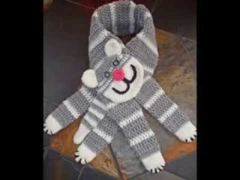 Free Cat Scarf Knitting Pattern