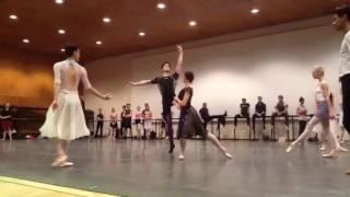 Sterling Baca ABT Swan Lake Von Rothbart Rehearsal 2016
