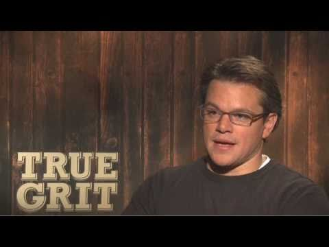 True Grit Interview With Matt Damon