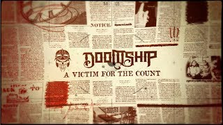 DOOMSHIP - A Victim For The Count (OFFICIAL LYRIC VIDEO)