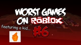 Worst Games On Roblox #6 (feat. Blqze)