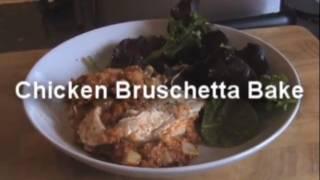 Chicken Bruschetta Bake - Myvirginkitchen