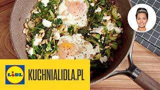 Zielona szakszuka (śniadanie na KACA!)  | Kinga Paruzel & Kuchnia Lidla
